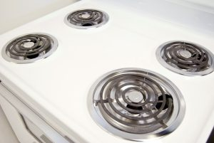 Conventional Five Burner Electric Stove